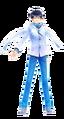 SMTxFE Itsuki DLC Costume DS2 Protagonist.png