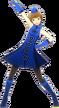 P4D Chie Satonaka deep blue clothes