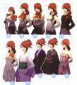 Concept artwork of Mitsuru's expressions.jpg