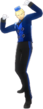 P4D Kanji Tatsumi deep blue clothes