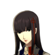 P5 portrait of Hifumi Annoyed