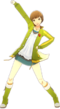 P4D Chie Satonaka winter outfit change