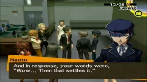 Persona 4 Confronting Adachi