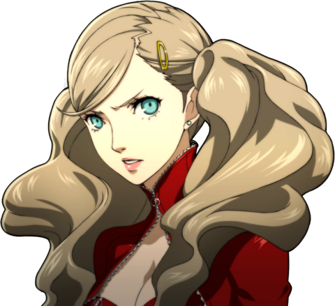 File:P5 portrait of Anne Takamaki's Phantom Thief outfit without mask.png