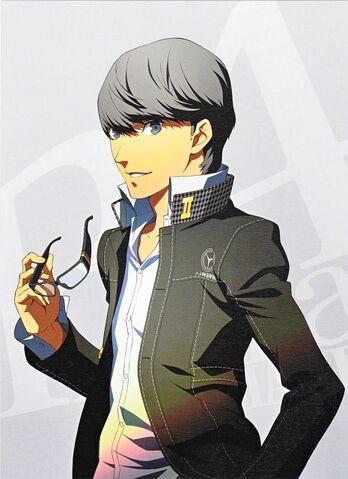 File:P4A Yu Narukami Volume 10 Illustration cover.jpg