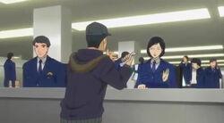 Junpei cameo in TS