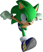 393px-Sonic Unleashed Running Render