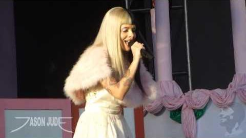 Melanie Martinez - Pity Party HD LIVE 10 8 16
