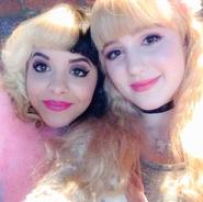 Melanie and Chloe