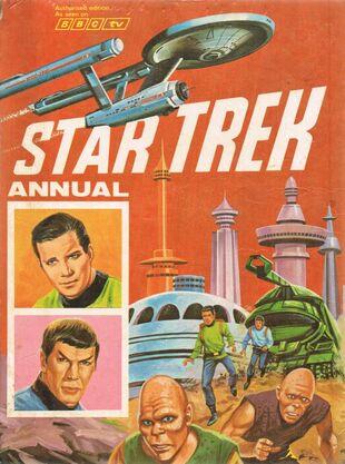 Cover of <i>Star Trek Annual 1970</i>.