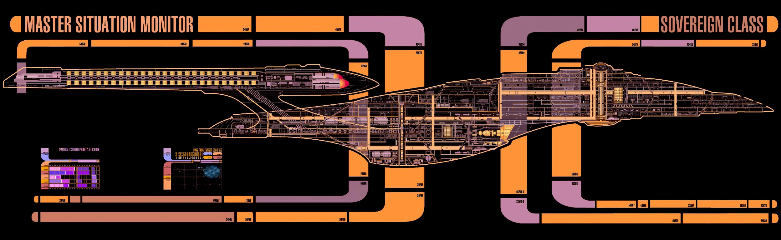 Star Trek Engineering Schematics Excelsior And Miranda Class Fleets Workhorses But Why Previously