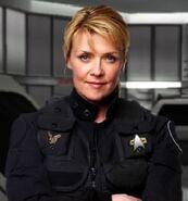 Samantha Carter commander (Star Trek)