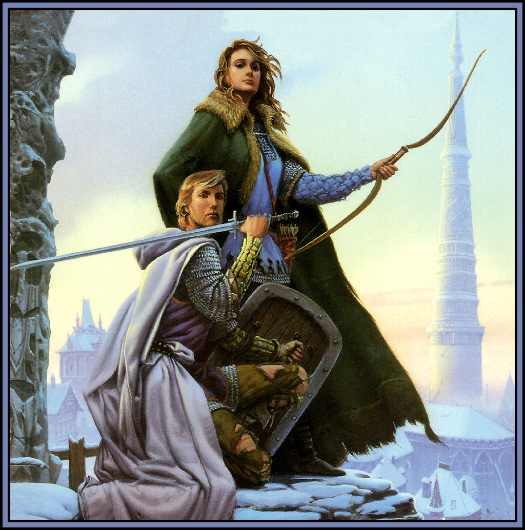 Image Michael whelan to green angel tower front
