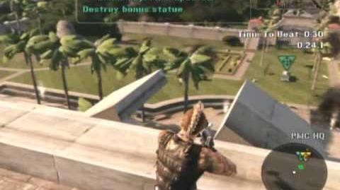 Mercenaries 2 Sniping Challenge 3