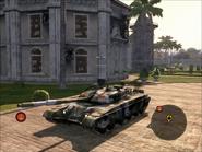 Iron Mountain Heavy Tank Front Quarter