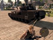 Mantis Light Tank Rear On Foot
