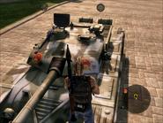 Iron Mountain Heavy Tank Turret Close-up