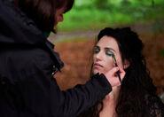 Katie McGrath Behind The Scenes Series 4-11