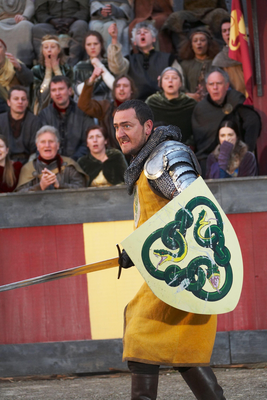 Merlin season 1 episode 7 2008 - Valiant In Fight