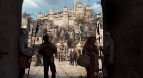 Merlin enters Camelot