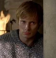 Arthur forgiving Gwen