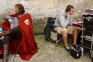 Rupert Young Behind The Scenes-1