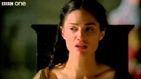Princess Mithian's suffering - Merlin - Series 5 Episode 4 - BBC One