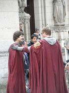 Alexander Vlahos and Bradley James Behind The Scenes Series 5-4