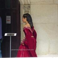Angel Coulby Behind The Scenes Series 5-10