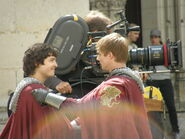 Alexander Vlahos and Bradley James Behind The Scenes Series 5-3