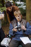 Colin Morgan and Bradley James Behind The Scenes Series 2
