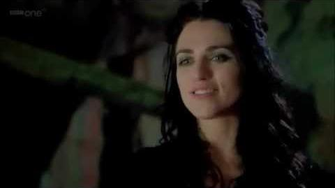 "Merlin 4x07 "" Merlin Faces Morgana and Altor"" scene"