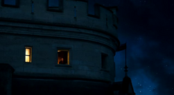 Window of Merlin's chamber