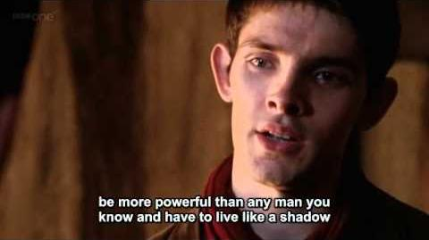 Merlin - I'm not going to apologize for who I am (S03E11 Subtitles)