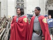 Eoin Macken and Adetomiwa Edun Behind The Scenes Series 4