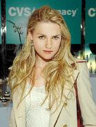 Katie McGrath with Blond Hair