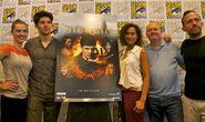 Merlin Cast and Crew Comic Con 2012-3