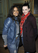 Angel Coulby and Katie McGrath