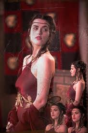 Morgana red dress