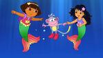 Dora's Rescue in Mermaid Kingdom Shot