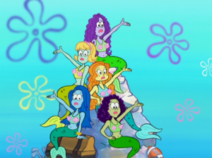 Spongebob Squarepants Mermaids