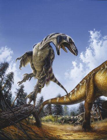 File:Deinonychus-Michael-Skrepnick.jpg