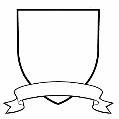 graphic about Printable Coat of Arms named ImageSpace - Blank Crest Style