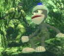 Schlange gegen Affe