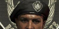 The Mbele Squad platoon leader