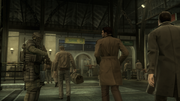 Solid Snake in the Train Station (MGS4)