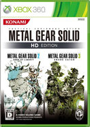 Metal Gear Solid HD Collection-Xbox 360-Japan m