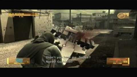 Metal Gear Solid 4 Walkthrough/Act 1