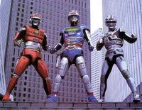 The Three Space Sheriffs