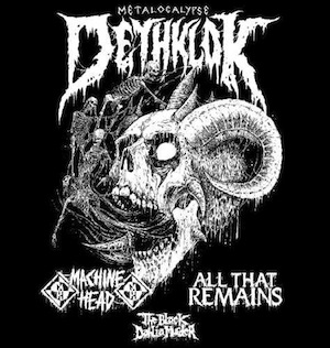 Dethklok Dethalbum 3 tour